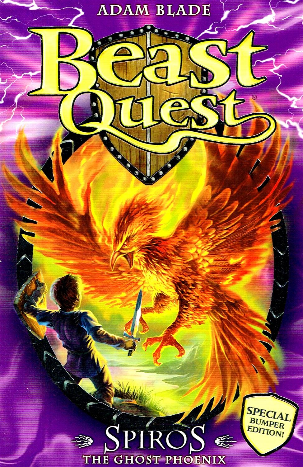 Business Book Cover Quest : Beast quest special bumper edition spiros the ghost