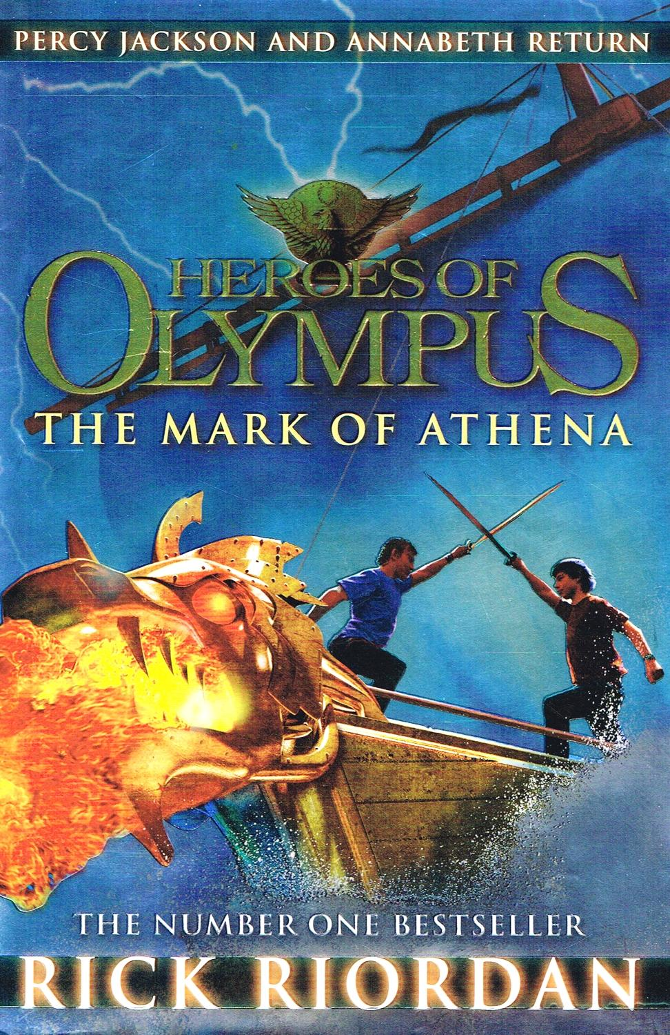 The Lost Hero, The Son of Neptune, and The Mark of Athena