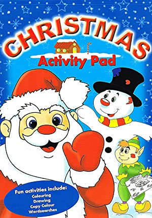 Christmas Activity Pad : Fun Activities Include: No Listed Author