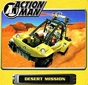 "Action Man : "" Desert Mission "": No Listed Author"