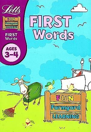First Words Age 3-4 : Fun Farmyard: Lynn Huggins-Cooper