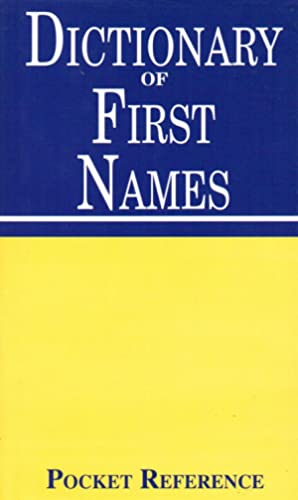 Dictionary Of First Names :