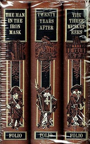 The Three Musketeers : Folio Trilogy Set: Alexandre Dumas ;