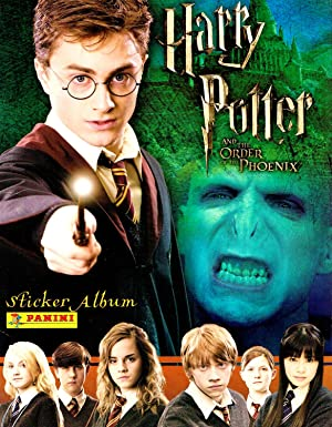 Harry Potter And The Order Of The Phoenix Sticker Album