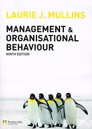 Management And Organisational Behaviour :