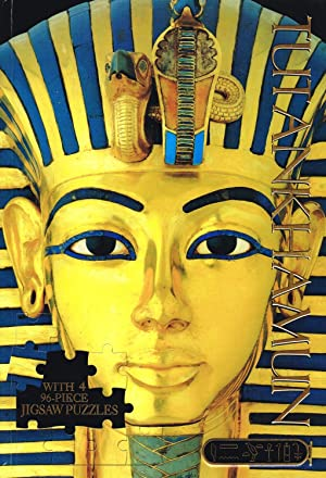 Tutankhamun Deluxe Jigsaw : With 4 96: No Listed Author