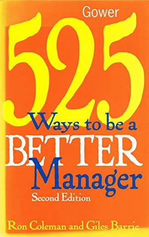 525 Ways To Be A Better Manager :