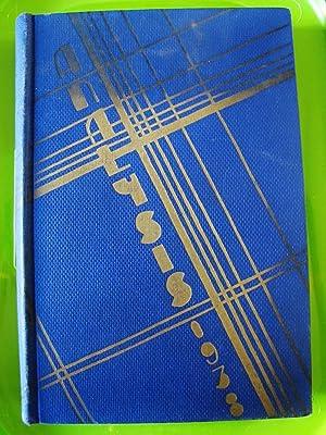 PHILADELPHIA TEXTILE SCHOOL, THE ANALYSIS 1938: Senior Class