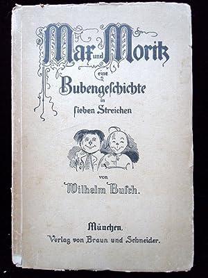 MAX UND MORITZ, EINE BUBENGESCHICHTE IN SIEBEN: Busch, Wilhelm, Illustrated