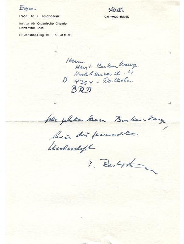 Handschriftl Dina5 Brief Datum Zvab