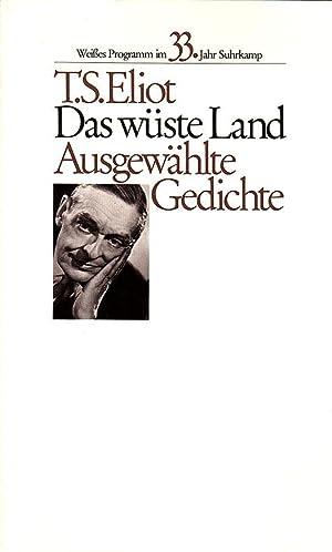 Das wüste Land. Ausgewählte Gedichte. Englisch und: Eliot, T. S.
