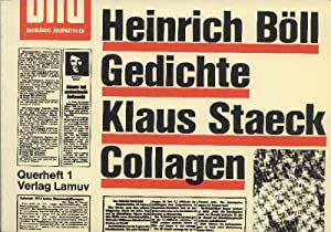 Gedichte und Collagen.: Böll Heinrich und