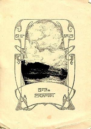 """Klischee """"Ex-Libris Botho Schmidt"""", 15 x 11: Schmidt, Botho (geb."""