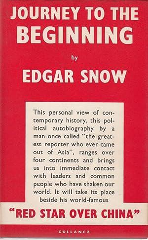 Journey to the Beginning.: Snow, Edgar