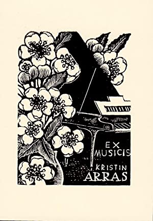 "O-Holzst., Exlibris ""Ex Musicis Kristin Arras"", 8,9: Dolezal, Antonin (Prosnitz"