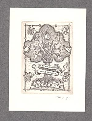 "O-Kupferstich C2, ""Exlibris Artur Mario da Mota: Tempinszky, Istvan (ungar."