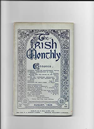 The Irish Monthly. V0l. L111, August, 1925.