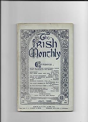The Irish Monthly. V0l. L111, July,No. 625.