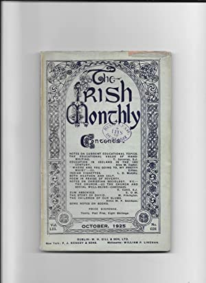 The Irish Monthly. V0l. L111, October, 1925.