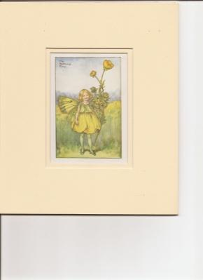 Print] The Buttercup Fairy.: Barker, Cicely Mary.