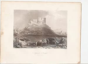 "Approach to Cashel, from the North. (Tipperary). [Print] From ""The Scenery and Antiquities of ..."