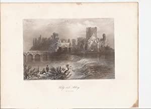 "Holy Cross Abbey (on the Suir). [Print] From ""The Scenery and Antiquities of Ireland."": ..."