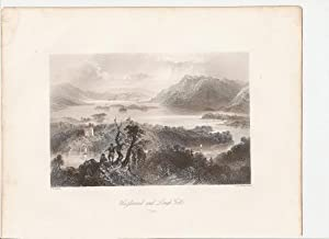 "Hazlewood and Louh Gill (Sligo). [Print] From ""The Scenery and Antiquities of Ireland."": ..."