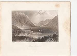 "Leenane-Connemara. (Co. Galway). [Print] From ""The Scenery and Antiquities of Ireland."": ..."