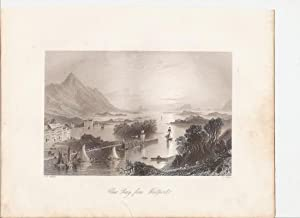 "Clew Bay, from Westport. (Mayo). [Print] From ""The Scenery and Antiquities of Ireland."": ..."