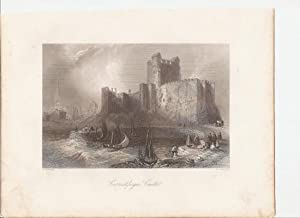 "Carrickfergus Castle. (Co.Antrim) [Print] From ""The Scenery and Antiquities of Ireland."":..."