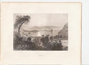 "Larne.(Co.Antrim) [Print] From ""The Scenery and Antiquities of Ireland."": Bartlett, ..."