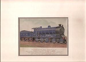 Print of Calendonian Railway Goods Locomotive, No. 918.: Mr. J. F. McIntosh Locomotive Engineer].: