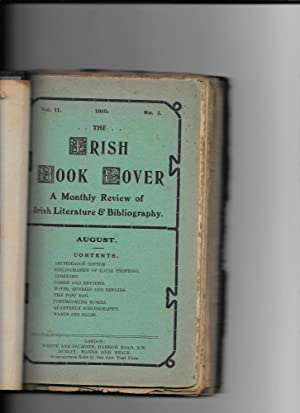 The Irish Book Lover. {8 issues bound together}.