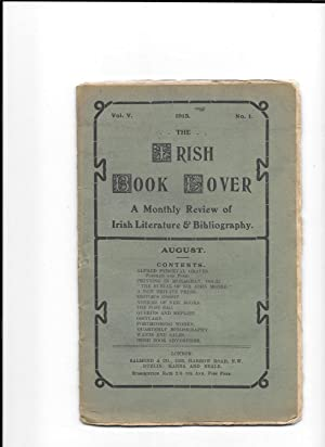 The Irish Book Lover. A Monthly Review