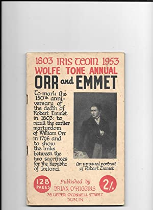 Wolfe Tone Annual 1953. Orr and Emmet: