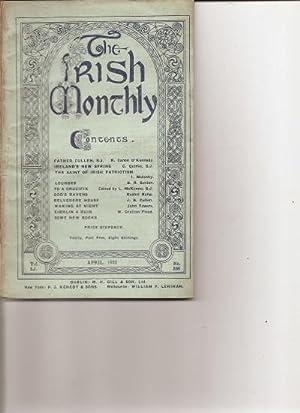 The Irish Monthly. Vol. L1.April, 1922. No.