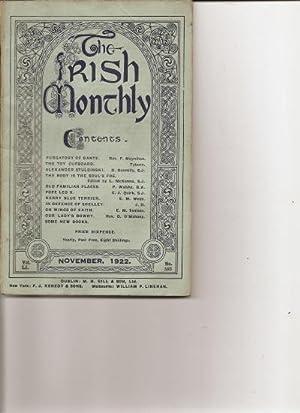 The Irish Monthly. Vol. L1. December, 1922.