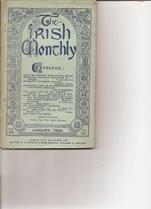 The Irish Monthly. Vol. L1V. January, 1926.