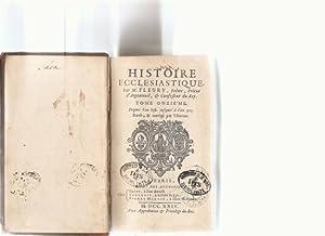 Histoire Ecclesiastque. Tome Onzieme, depuis l'an 858. jusques a l'an925.: Fleury, M. ...