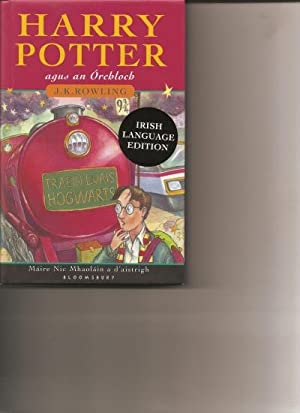 Harry Potter Agus an Orchloch. [Harry Potter and the Philosopher's Stone].: Rowling, J.K. [Nic...