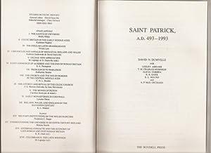 Saint Patrick A.D. 493-1993.: Dumville, David N.[ with others]: