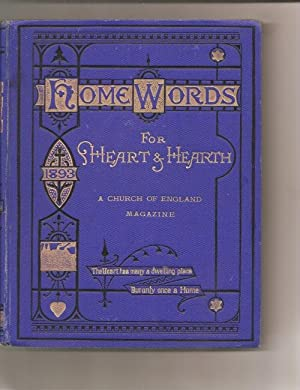 Home Words for Hearth and Home. 1893.: Bullock, Rev. Charles.: