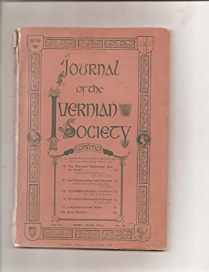 Journal of the Ivernian Society. Vol. 1V. April-June, 1912. No. 18.