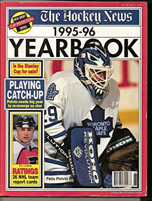 The Hockey News Yearbook 1995-96 Potvin cover