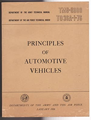 Principles of Automotive Vehicles TM9-8000 TO36A-1-76: Department of Army