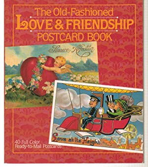 The Old-Fashioned Love & Friendship Postcard Book: Greif, Martin