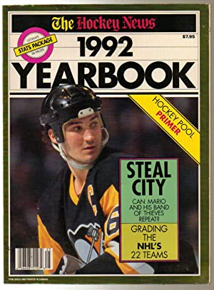 The Hockey News 1992 Yearbook Lemieux Cover: Mckenzie, Bob (