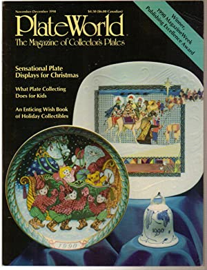 Plate World Magazine November-December 1990 Volume 12: Alyson Sulaski Wyckoff