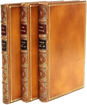 The monk: a romance. By M. G. Lewis, Esq. M.P. In three volumes.