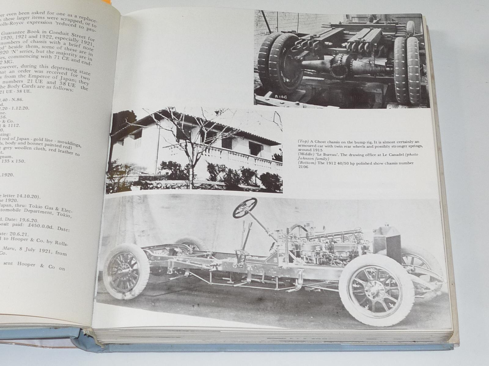 Rolls Royce 40 50hp Ghosts Phantoms and Spectres von W J Oldham Hard Cover First Edition Simon Lewis Transport Books